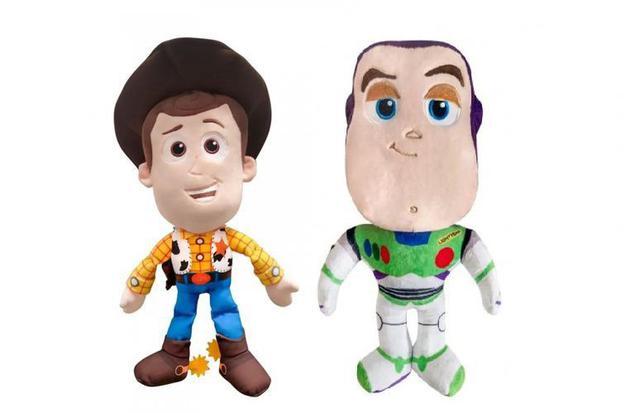 Imagem de Kit 2 Pelúcias Woody e Buzz lightyear Toy Story  DTC 5108