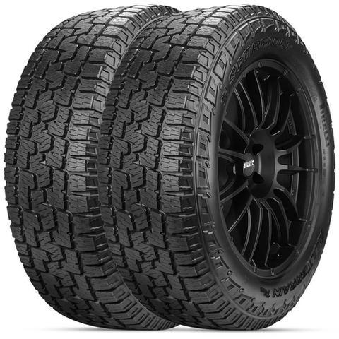 Imagem de Kit 2 Pneu Pirelli Aro 16 265/75r16 116t Scorpion All Terrain Plus