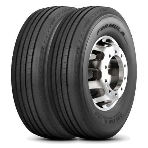 Imagem de Kit 2 Pneu Pirelli Aro 22 11.00r22 150/146L 16 Formula Driver II Liso
