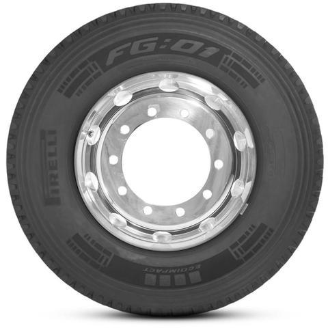 Imagem de Kit 2 Pneu Pirelli Aro 22.5 295/80r22.5 152/148L M+S Plus Fg01
