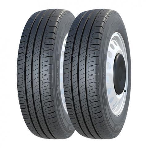Imagem de Kit 2 Pneus Michelin Aro 15 195/70R15 Agilis 104/102R