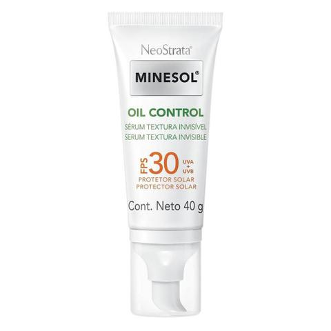 Imagem de Kit 2 Protetor Solar Neostrata Minesol Oil Control Sérum FPS 30 40g