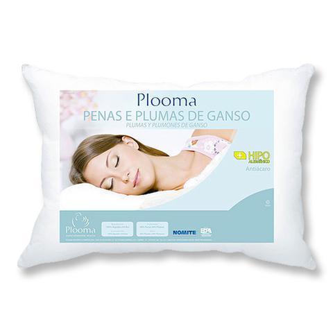 Imagem de Kit 2 Travesseiros de Penas e Plumas de Ganso - Plooma