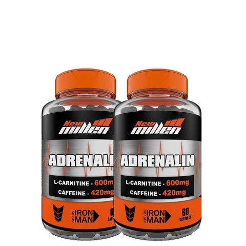 Imagem de Kit 2 Unid Adrenalin 60Caps New Millen