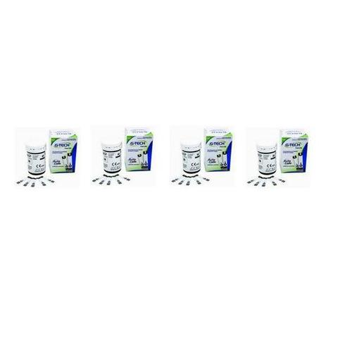 Imagem de Kit 200 Tiras Reagentes G-tech Free Lite Teste De Glicemia