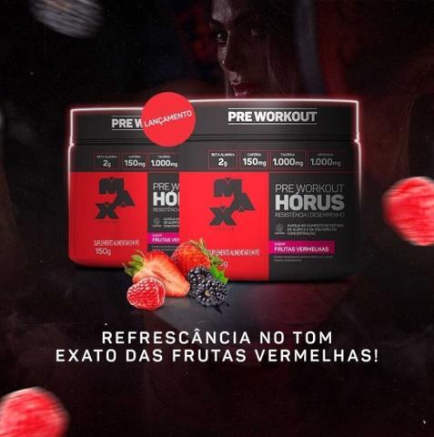 Imagem de Kit 2x Pré Treino Hórus 300g - Max Titanium