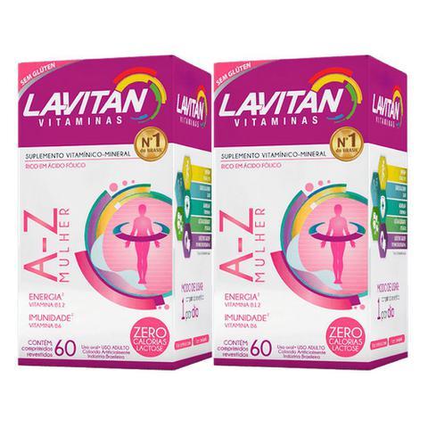 Imagem de Kit 2x60 Lavitan A-Z Mulher (120 Comprimidos)