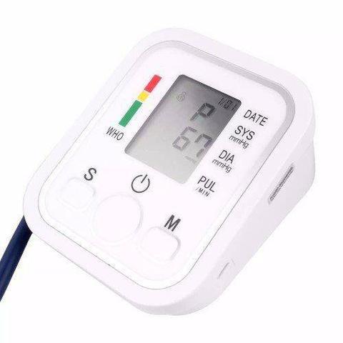 Imagem de Kit 3 Aparelhos Medidor De Pressão Arterial Digital Braço Mega Premium