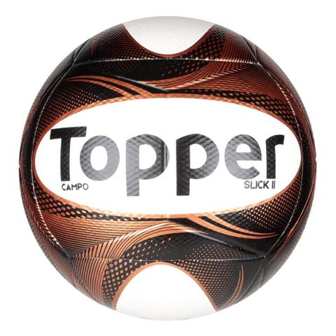 Imagem de Kit 3 Bolas Topper Slick II - Campo, Futsal e Society