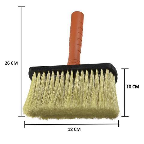 Imagem de Kit 3 Broxa Trincha Grande 18cm Jumbo Atlas Pintura Limpeza