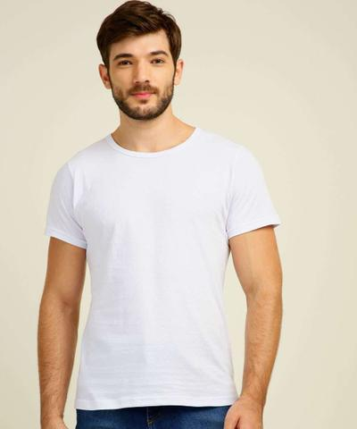 Imagem de Kit 3 Camisetas Masculinas Básicas Manga Curta