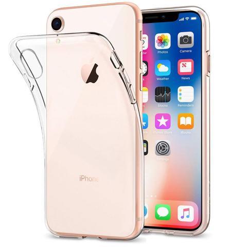 Imagem de Kit 3 Capinhas Cases Ultra-Slim Transparentes - Capas iPhone XR