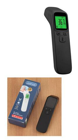 Imagem de Kit 3 Em 1 Termômetro Infravermelho de Testa + Oxímetro Dedo/Pulso + Aparelho De Pressão Digital