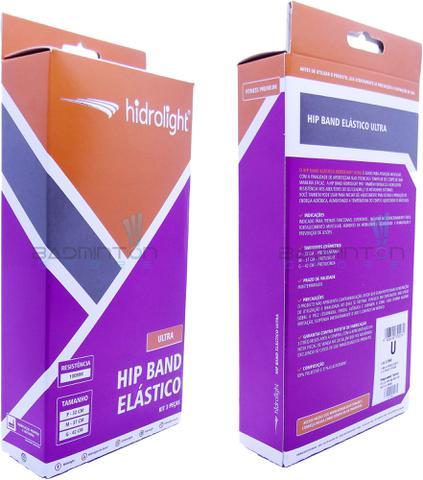 Imagem de Kit 3 Hip Bands Ultra - Faixa Elástica Funcional Mini Band FL68