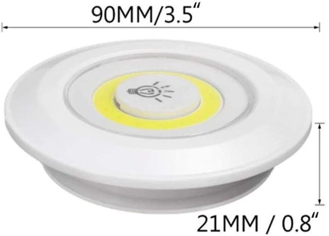 Imagem de Kit 3 Lampadas Luminaria Led Controle Remoto Sem Fio spot