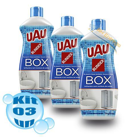 Imagem de Kit 3 Limpa Box Uau Tradicional 200 Ml