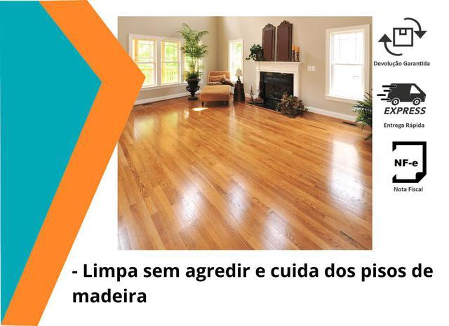 Imagem de Kit 3 Limpa Pisos De Madeira Uau 750ml Pronta Entrega