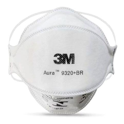 Imagem de KIT 3 Máscaras Pff2 Aura 9320 BR Respirador Descartável - 3M
