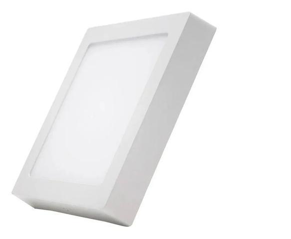 Imagem de Kit 3 Paflon Painel Led Luminária Sobrepor Quadrado 24w 25w