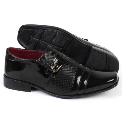 Imagem de Kit 3 Pares Sapatos Masculinos Torani