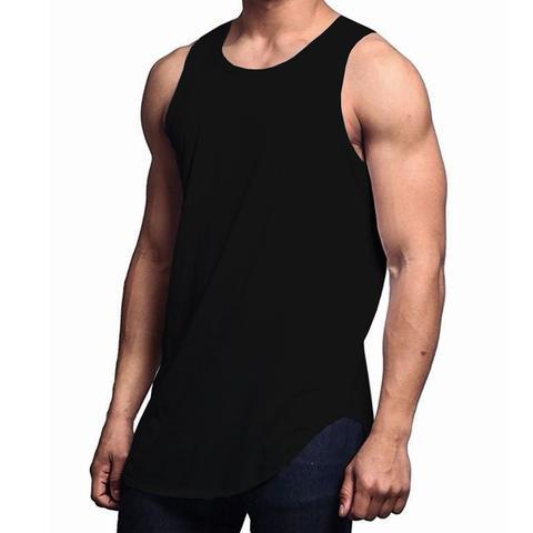 Imagem de Kit 3 Regatas Longline Oversized C80 Camiseta Masculina