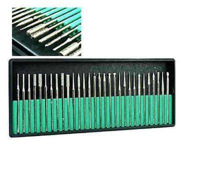 Imagem de Kit 30 Brocas Lixa Unha Eletrica Lixadeira Caneta