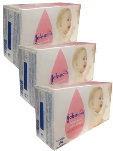 Imagem de Kit  3x Absorvente de seios Johnsons - 24 unidades