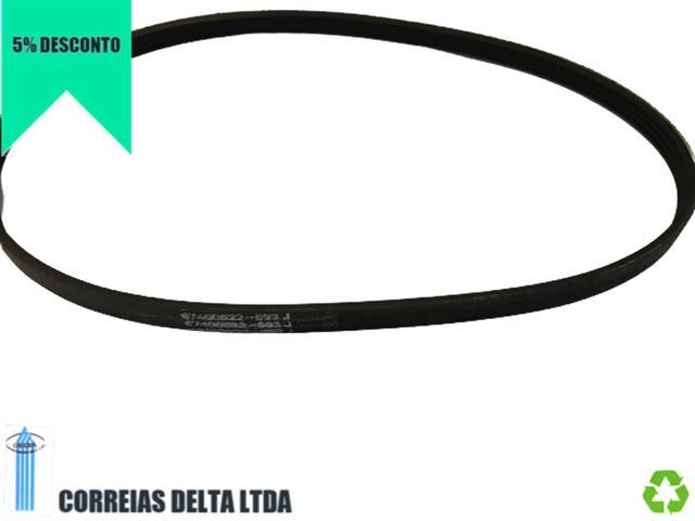 Imagem de Kit 3x Correias Lavadora Electrolux LT12