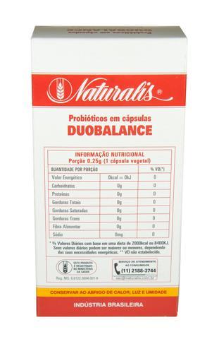 Imagem de Kit 3x Duobalance Probiótico 30 Cápsulas Naturalis