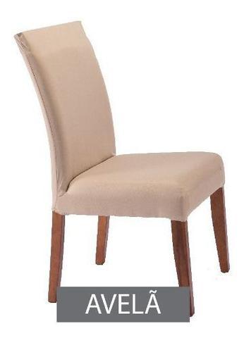 Imagem de Kit 4 Capas De Cadeira Malha Gel Elástica Para Sala Cozinha