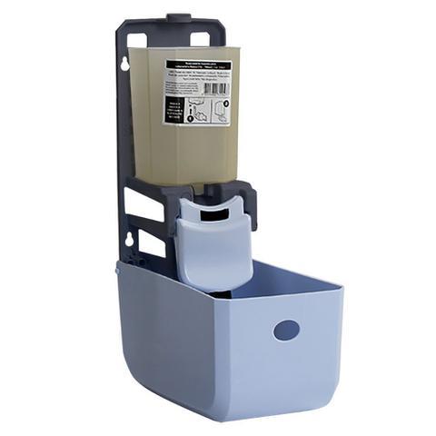Imagem de Kit 4 Dispenser De Parede Alcool Em Gel Sabonete Liquido