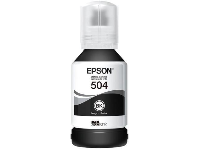 Imagem de Kit 4 Garrafas de Tinta Epson T504 Original