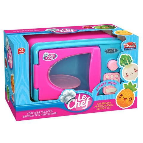 Imagem de Kit 4 Itens Cozinha Infantil Le Chef - Usual Brinquedos