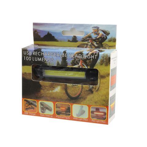 Imagem de Kit 4 lanterna farol bike luz forte 5 opções de flash