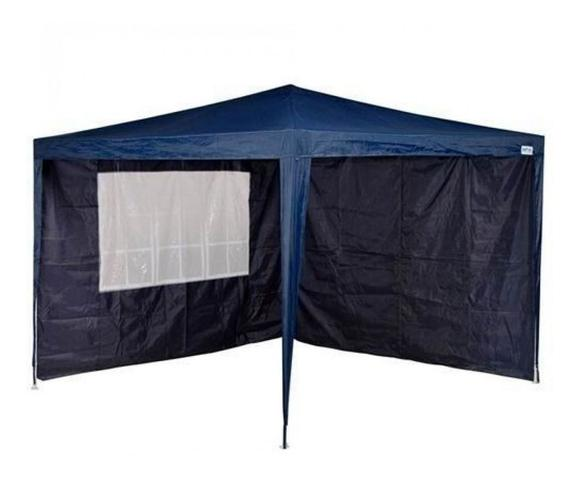 Imagem de Kit 4 Laterais Paredes Para Tenda Barraca Gazebo 3x3m Azul