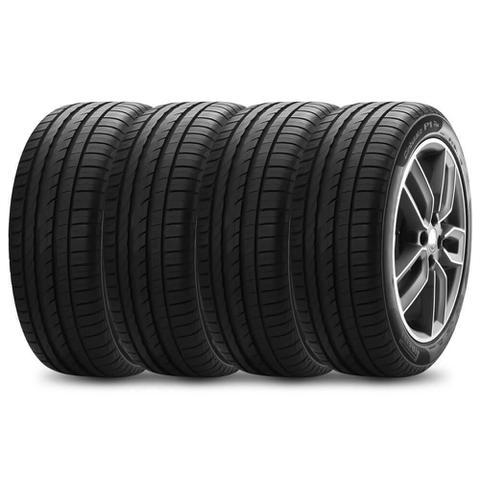 Imagem de Kit 4 Pneu Pirelli Aro 15 195/55r15 85v Cinturato P1 Plus