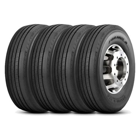 Imagem de Kit 4 Pneu Pirelli Aro 22 11.00r22 150/146L 16 Formula Driver II Liso