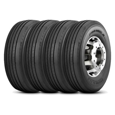 Imagem de Kit 4 Pneu Pirelli Aro 22.5 295/80r22.5 152/148M Formula Driver 2
