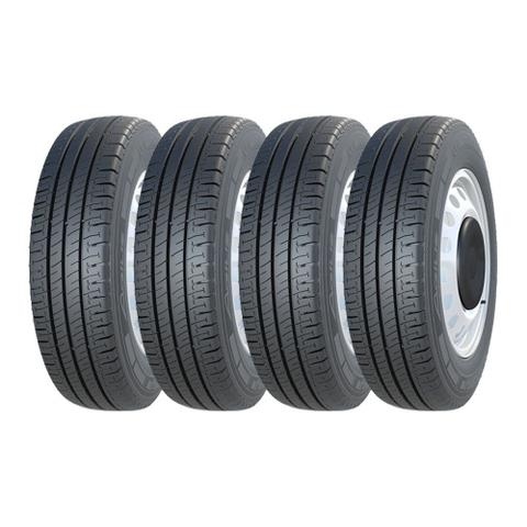 Imagem de Kit 4 Pneus Michelin Aro 15 205/70R15C Agilis 106/104R