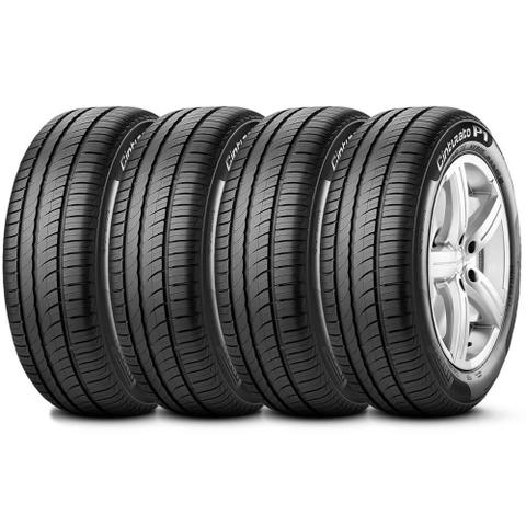 Imagem de Kit 4 Pneus Pirelli Aro 16 205/55r16 91v P1 Cinturato