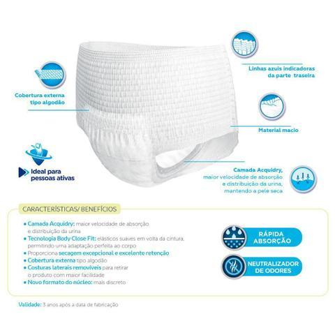 Imagem de Kit 4 Roupas Íntimas Tena Pants Confort P/M 24un cada