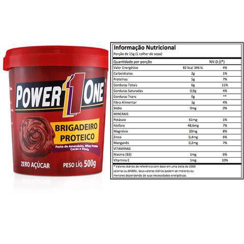 Imagem de Kit 4 X Pastas De Amendoim - Power One - Sabores Á Escolher