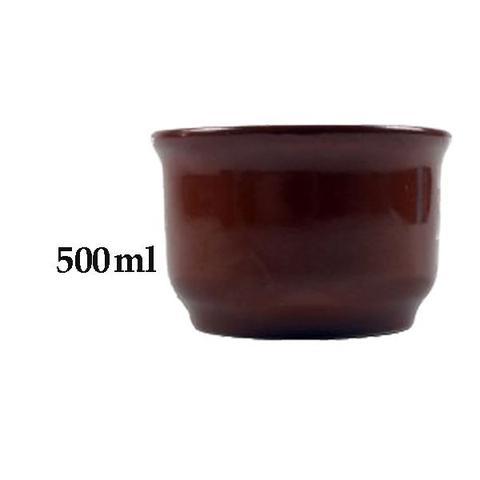 Imagem de Kit 5 Cumbuca de Barro Argila Para Caldos Feijoada 500ml