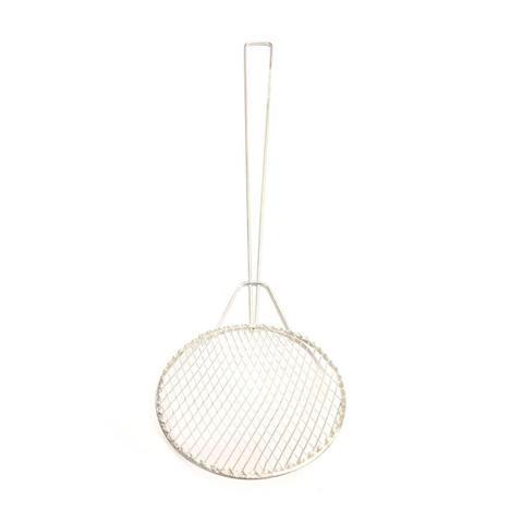 Imagem de Kit 5 Escumadeira Fritura 14 cm Resistente Batata Pastel