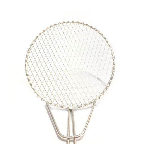 Imagem de Kit 5 Escumadeira Fritura 16 cm Resistente Batata Pastel