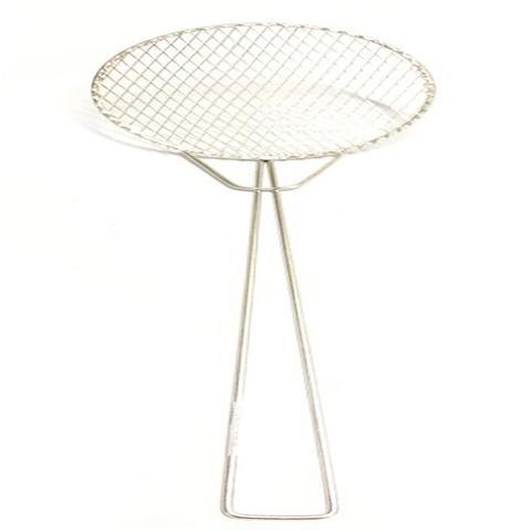 Imagem de Kit 5 Escumadeira Fritura 22 cm Resistente Batata Pastel