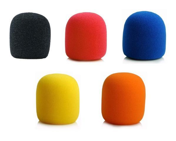 Imagem de Kit 5 Espuma Para Microfone De Mão Sm58 Colorido