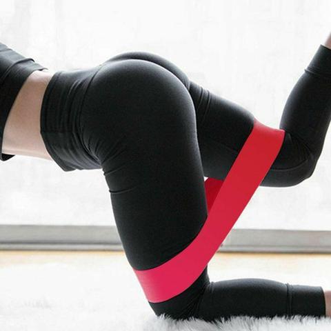 Imagem de Kit 5 Faixas Elásticas Mini Band Loop Exercicios Fitness