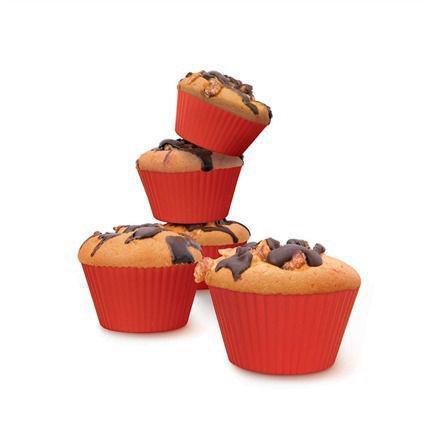 Imagem de Kit 5 Forminhas De Bolinho Cupcake Muffins Para Airfryer