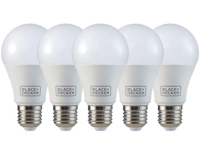 Imagem de Kit 5 Lâmpadas LED 6W 3000K Amarela